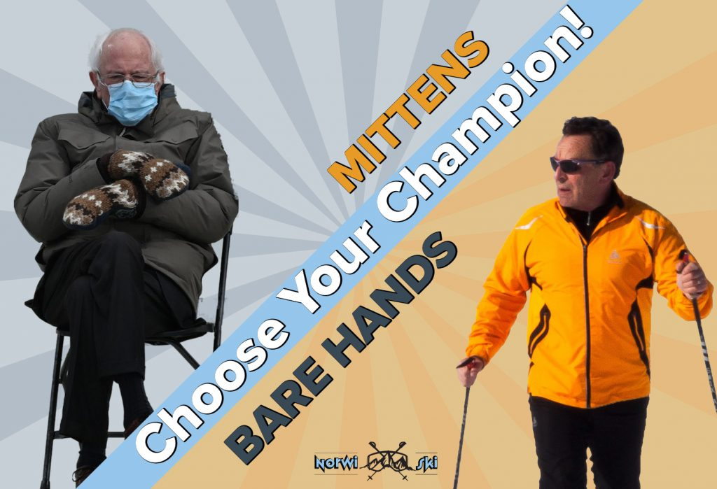 Mittens or Bare Hands