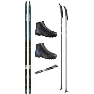 salomon escape 5 cross country ski package