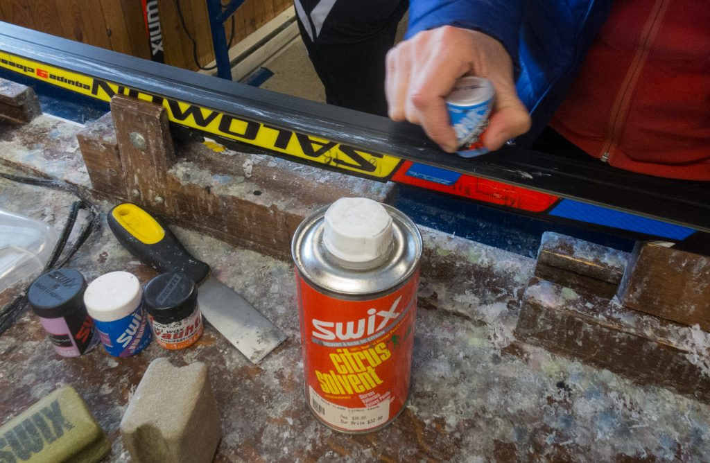 Grip Waxing of Cross-Country Skis