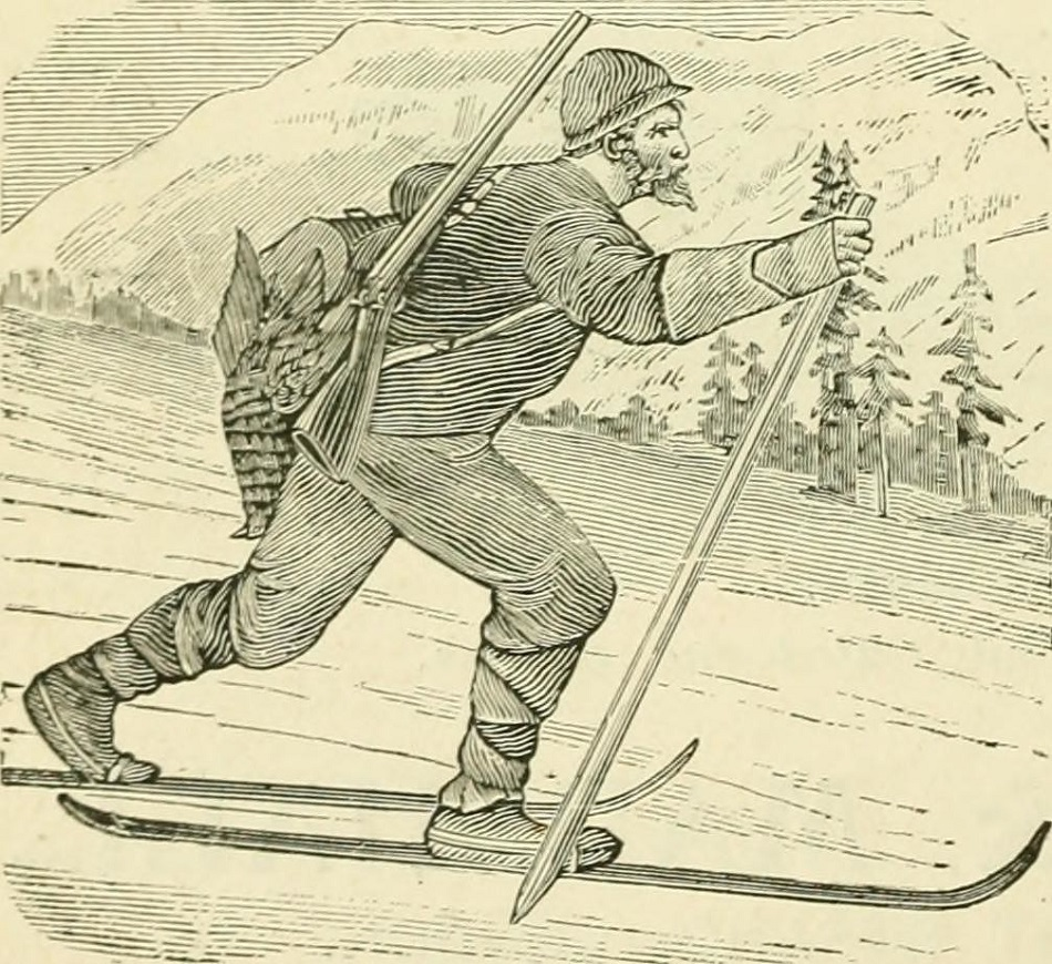 ancient Cross Country skier