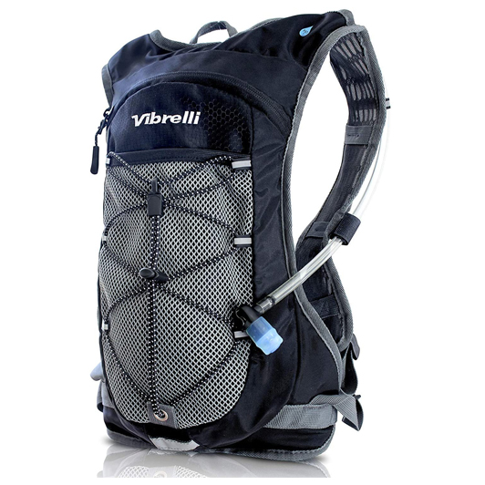 Vibrelli Hydration Pack & 2L Hydration Water Bladder