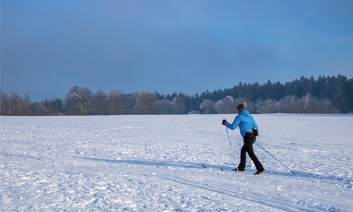 Activities in time of Social Distancing: Cross-Country Skiing!