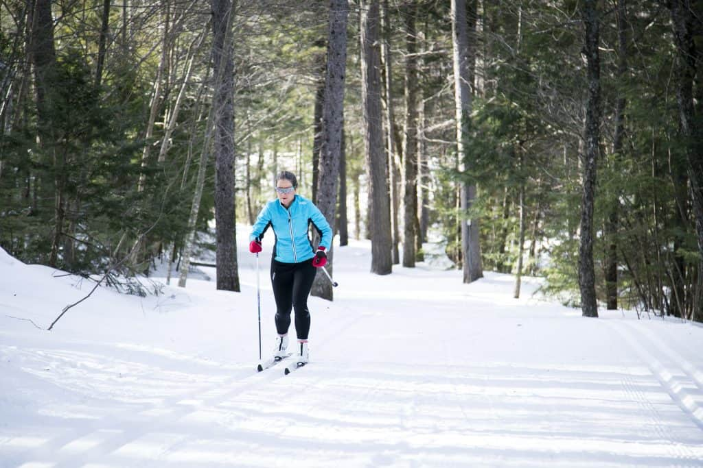 Classic Cross-Country Skiing