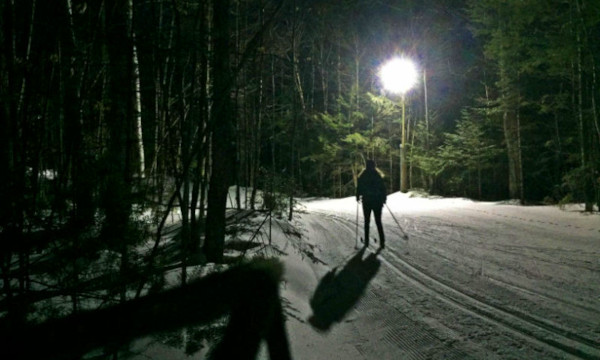 night-skiing
