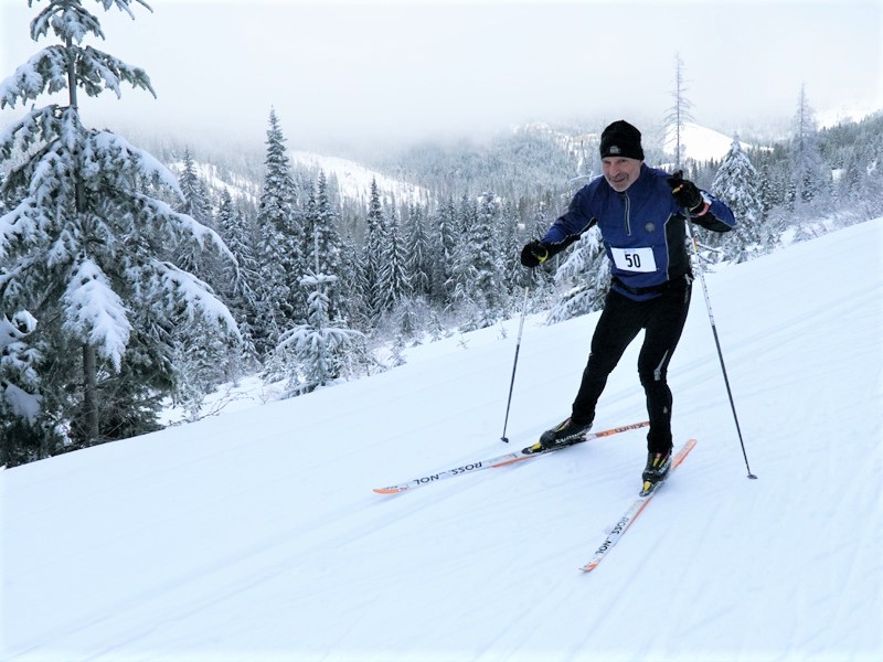 Cross Country Skiing Loppet at Mt Spokane Nordic Center in 2020